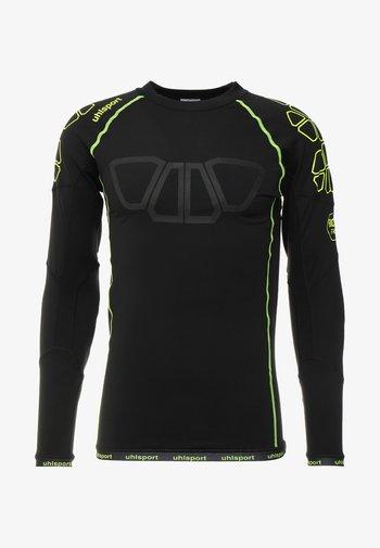 BIONIKFRAME  BASELAYER - Sports shirt - black/fluorecent yellow