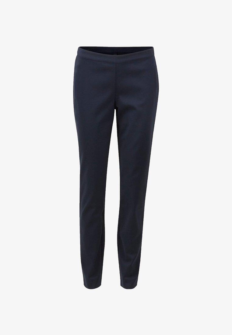 YAS - PEYTON  - Trousers - dark-blue