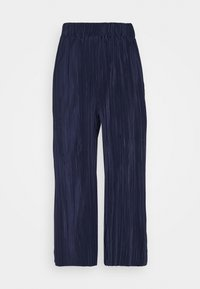 Cotton On - POPPY PLEATED CULOTTE - Trousers - navy blue - 4