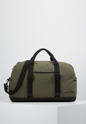 UTILITY CANVAS DUFFLE - Weekend bag - green