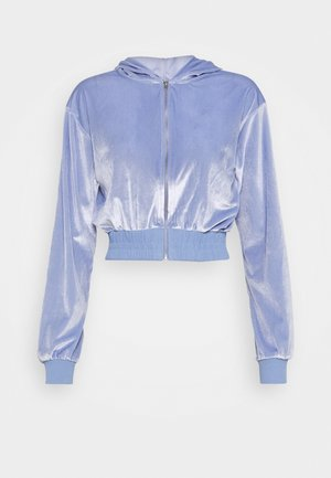 DIAMANTE HOODY - veste en sweat zippée - lilac