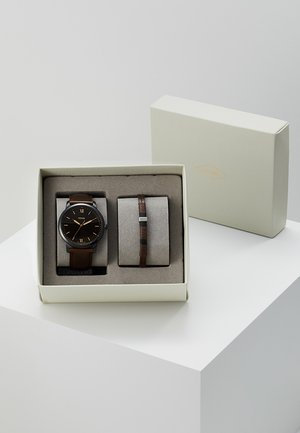SET THE MINIMALIST - Uhr - braun
