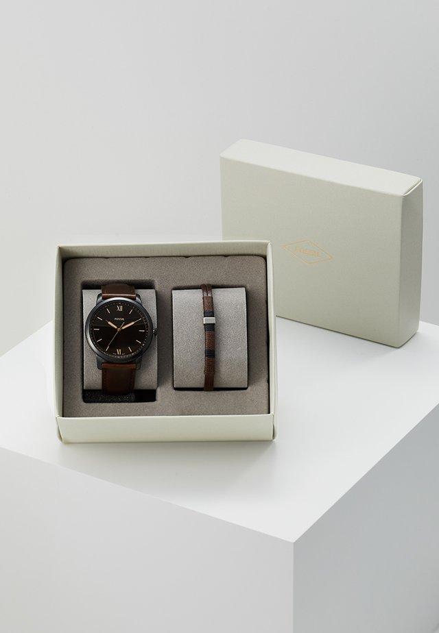 SET THE MINIMALIST - Horloge - braun