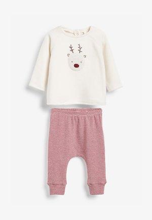 COSY REINDEER - Fleece jumper - multi-coloured