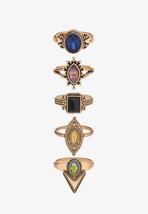 UMARELIA 5 PACK - Bague - multi-coloured