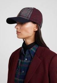 Hackett London - PATCHWORK CAP - Keps - multi-coloured - 4