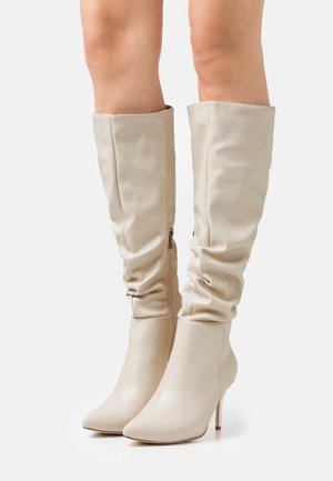 WIDE FIT JULIANA - Boots - offwhite