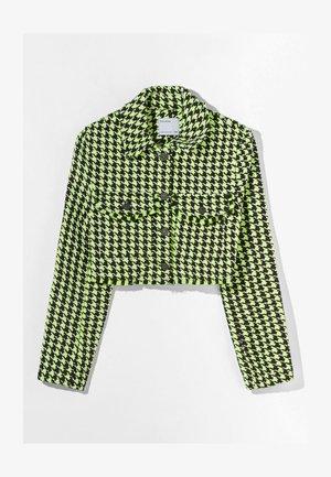 Lehká bunda - green/black