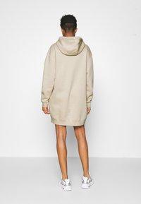 Nike Sportswear - HOODIE DRESS - Day dress - oatmeal - 2