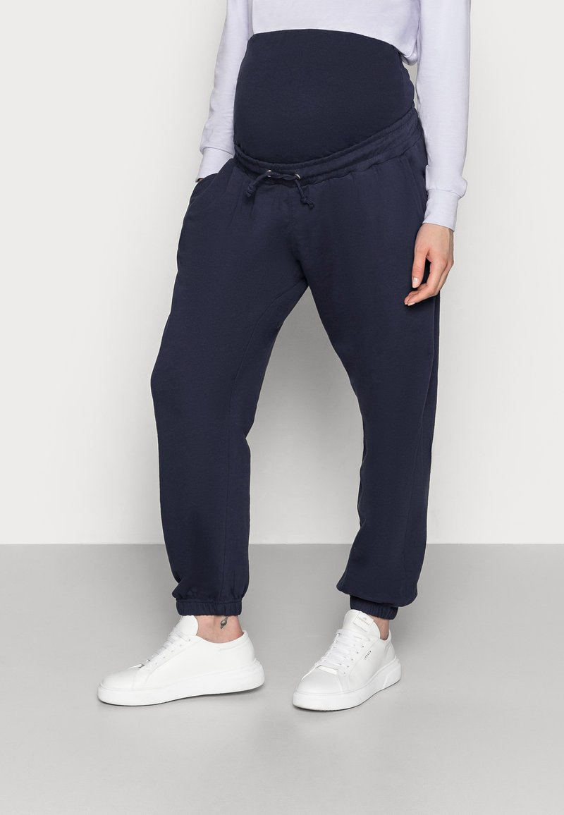 Missguided Maternity - Tracksuit bottoms - navy