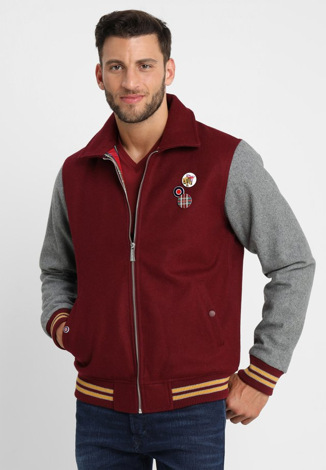 TEDDY - Bomberjacke - bordeaux