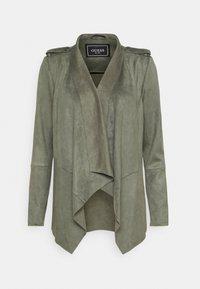 Guess - SOFIA JACKET - Faux leather jacket - baja palm - 0