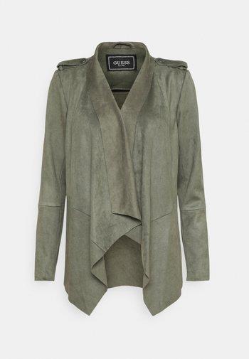 SOFIA JACKET - Faux leather jacket - baja palm