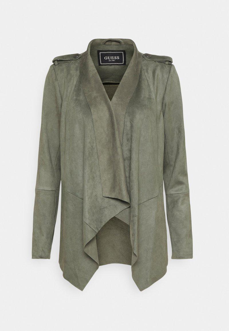 Guess - SOFIA JACKET - Faux leather jacket - baja palm