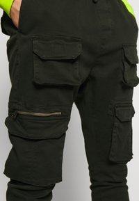 Brave Soul - MOLTON - Cargo trousers - khaki - 4