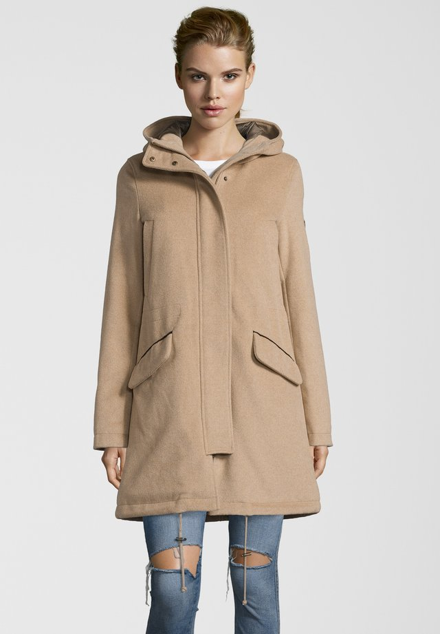 PARKA ROMY - Down coat - taupe