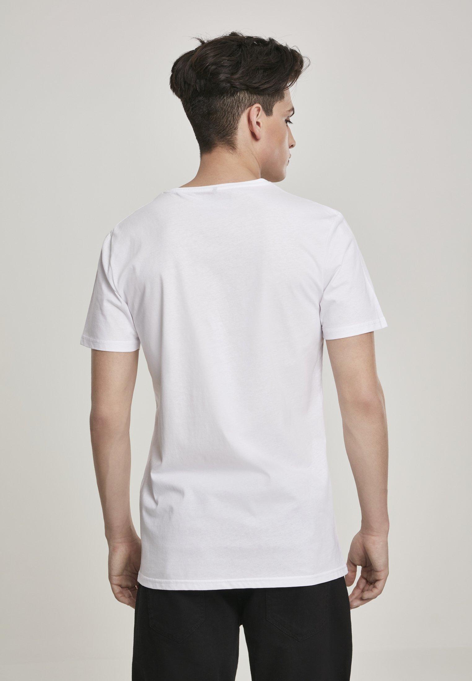 Mister Tee POPEYE STANDING - Print T-shirt - white kNQIw
