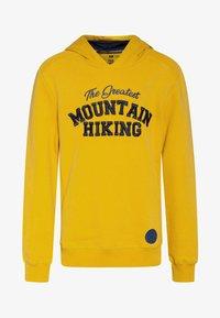 WE Fashion - REGULAR FIT - Hoodie - ochre yellow - 0