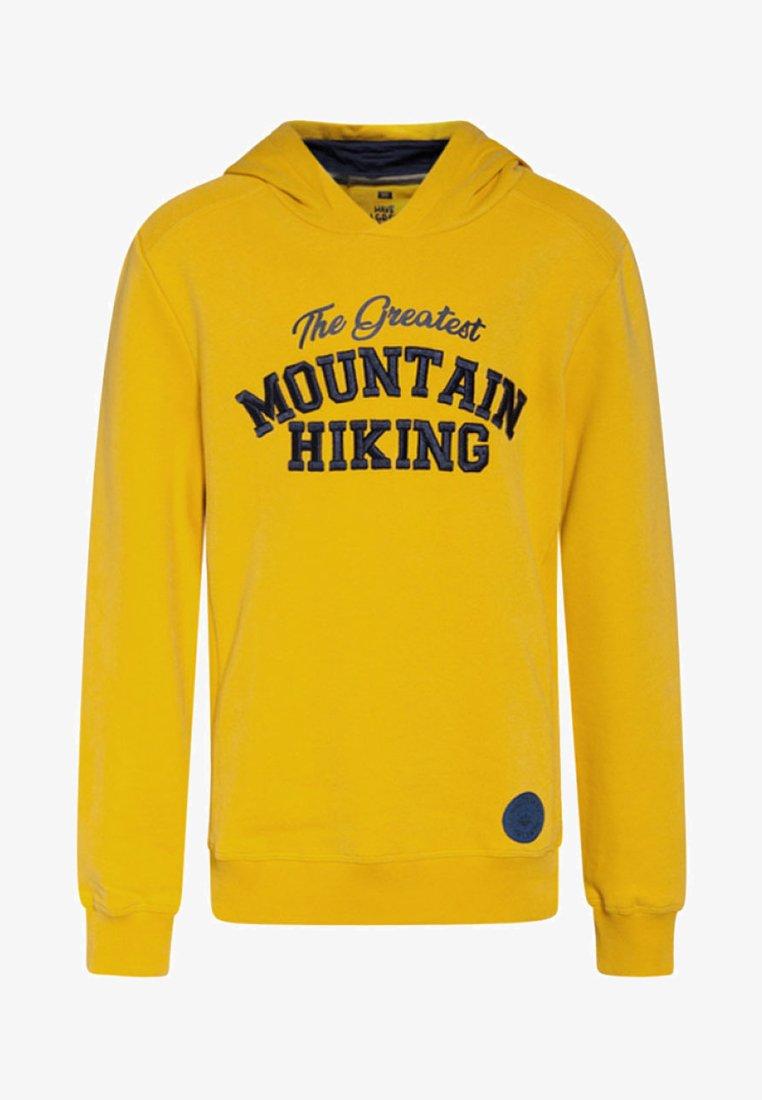 WE Fashion - REGULAR FIT - Hoodie - ochre yellow
