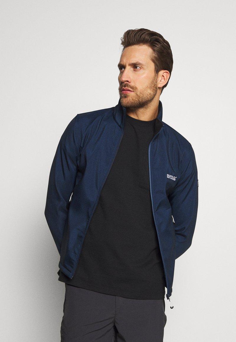 Regatta - CERA - Soft shell jacket - navy marl