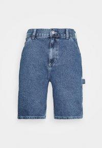 CARPENTER - Shorts di jeans - blue
