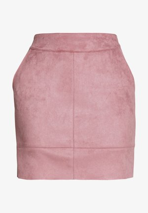 ONLJULIE SKIRT - Minisukně - adobe rose
