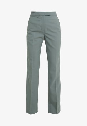STRUCTURED PANT - Kalhoty - beryl green