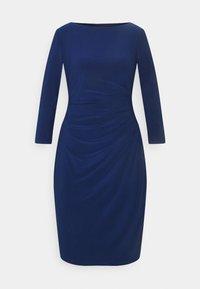 Lauren Ralph Lauren - MID WEIGHT DRESS - Shift dress - twilight royal - 4
