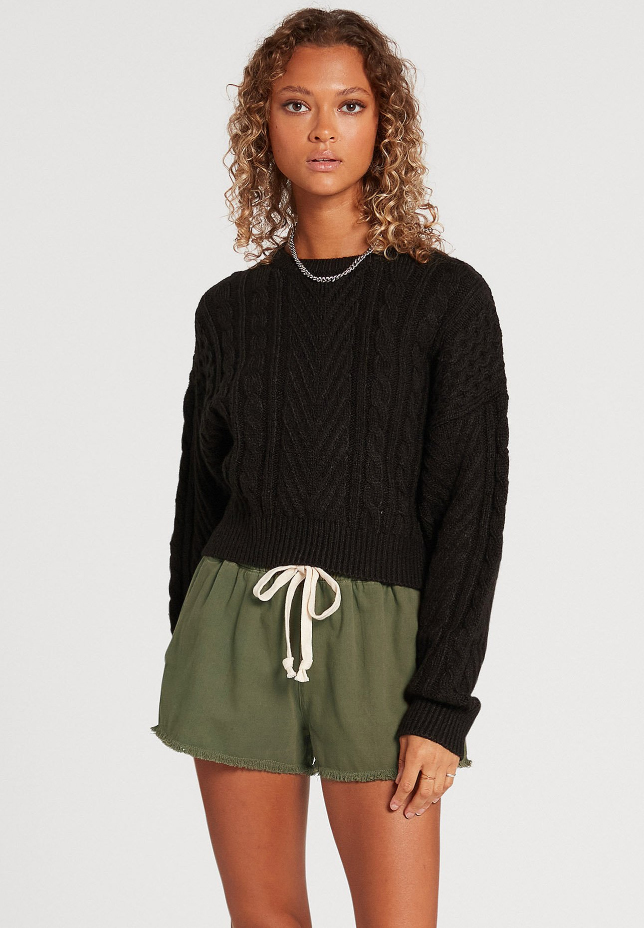 Mujer CABLED BABE SWEATER - Jersey de punto
