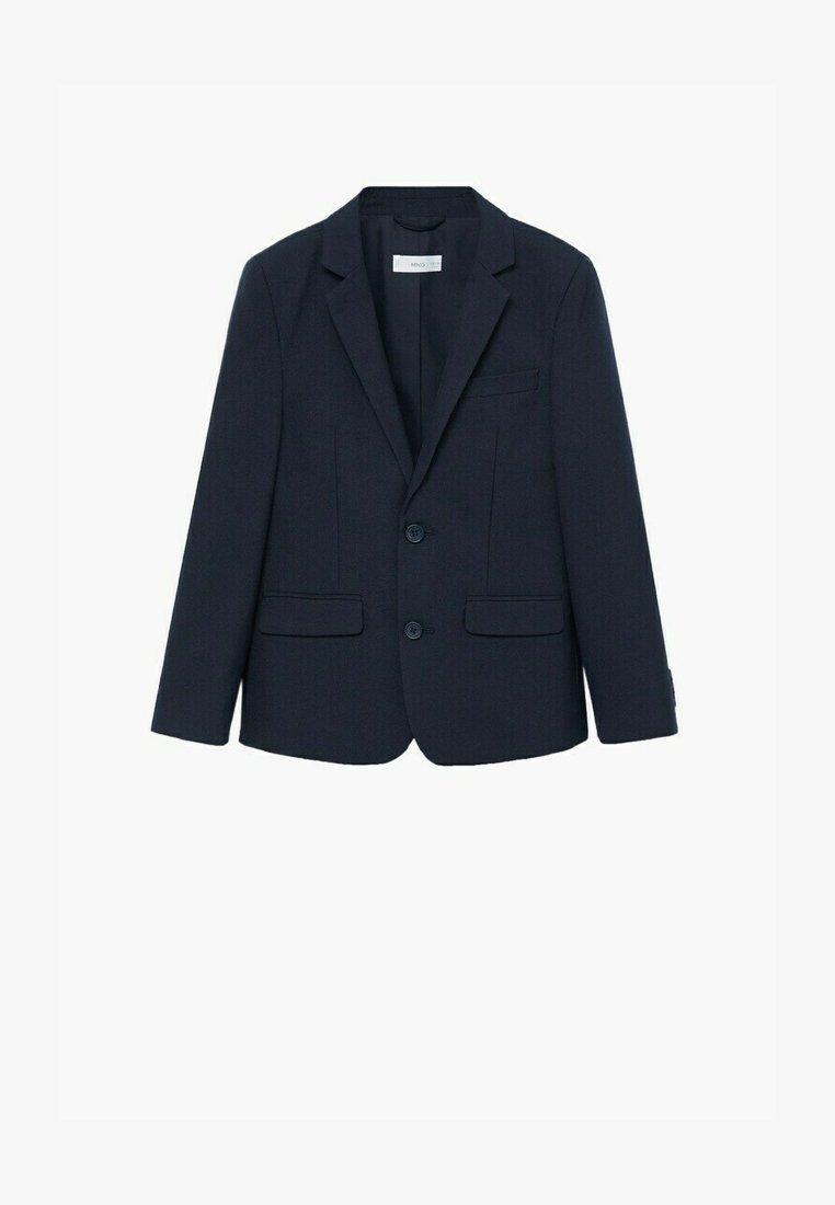 Mango - TRAVEL - Blazer jacket - dunkles marineblau