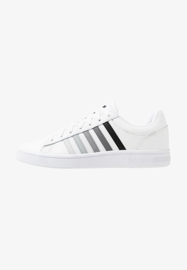 COURT WINSTON - Trainers - white/black gradient
