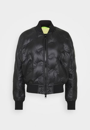 W-AVALES JACKET - Down jacket - black