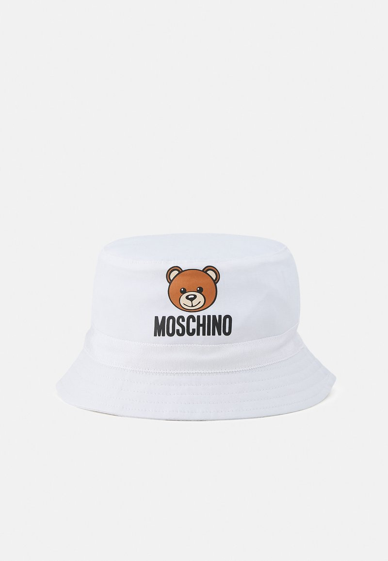 MOSCHINO - HAT WITH GIFT BOX UNISEX - Klobouk - optic white