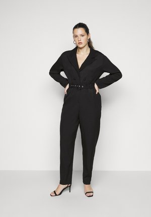 TAILORED BELTED - Combinaison - black