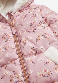 Next - Snowsuit - pink - 3