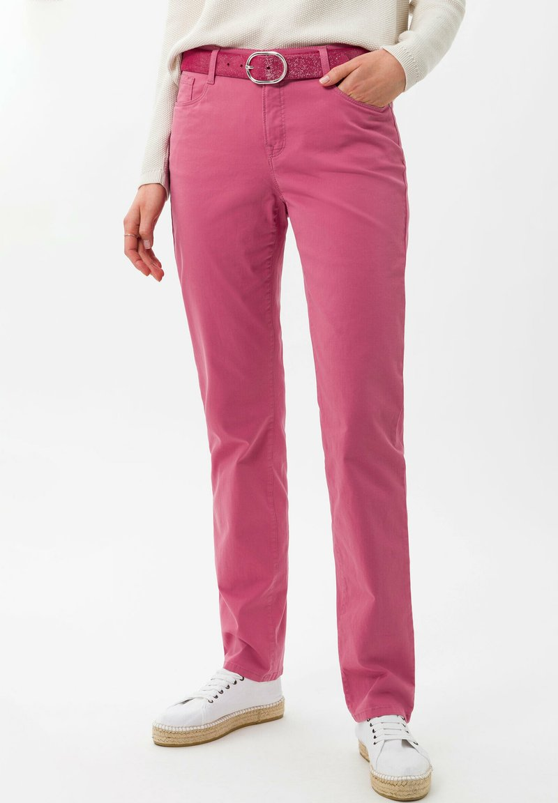 BRAX - STYLE MARY - Trousers - magnolia