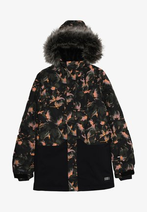 ZEOLITE JACKET - Kurtka snowboardowa - black/red