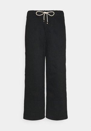 WORKER PANT - Broek - black