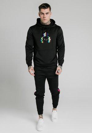 OVERHEAD HOODIE - Jersey con capucha - black