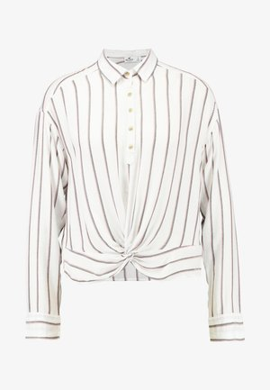 TWIST POPOVER - Blouse - white