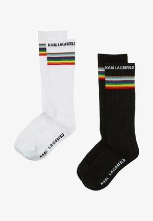 2PACK - Socken - black/ white