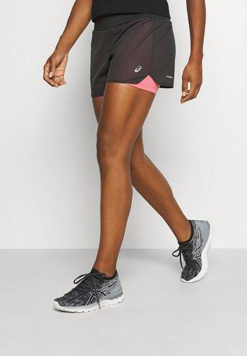 VENTILATE SHORT - Sports shorts - graphite grey/peach petal