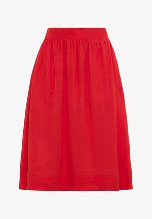 TAILLEN - A-line skirt - rot