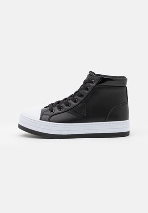 BASK - Sneakers hoog - black/white
