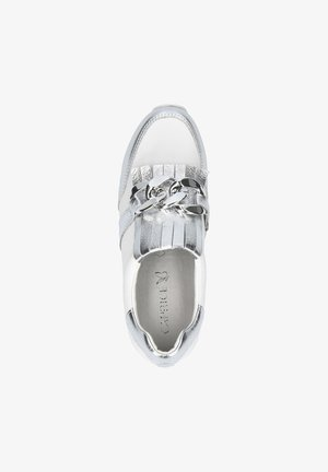 Sneakers laag - silver/white