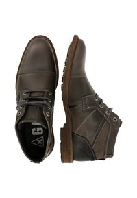 Gaastra - CREW MID CHAPA - Lace-up ankle boots - dark grey - 1