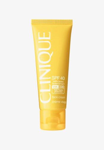 SPF40 FACE CREAM  - Sun protection - -