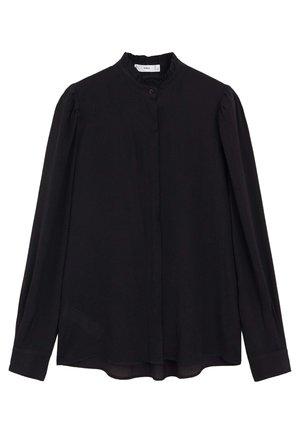 NARA - Button-down blouse - schwarz