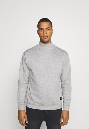 FUNNEL NECK CREW - Sweater - grey