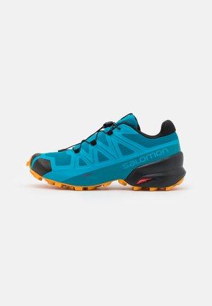 SPEEDCROSS 5 - Trail running shoes - crystal teal/barr reef/golden oak